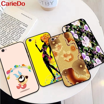 CarieDo Girl 1 Soft TPU Case Cover For Vivo Y71 Y83 Y81 Y51 Y93 Y97 Y91 Y95 V11i Z3i Z3 X21UD Z5X X27 V15 S1 Pro image
