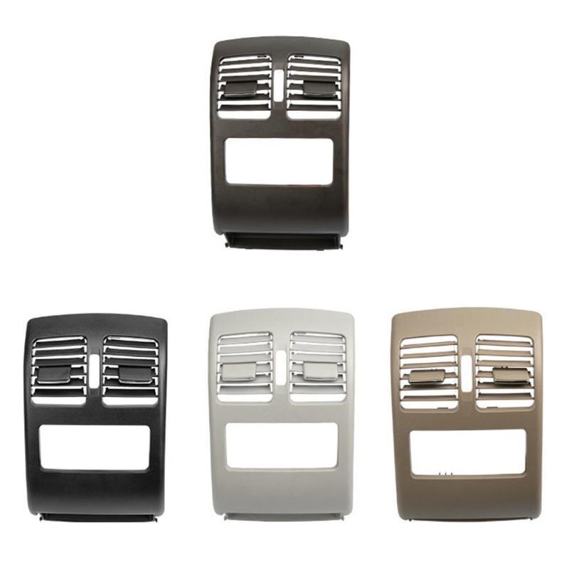 Couverture de Grille de sortie d'évent d'air frais de Console centrale arrière de voiture Durable ajustement précis remplacement Direct pour Benz X204