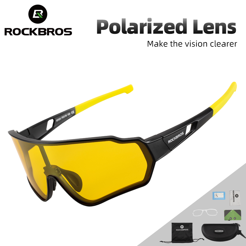 ROCKBROS Cycling Glasses Polarized Sport Cycling Eyewear UV400 Bike Sunglasses Men Women Bicycle Googles Mtb Running Sunglasses 1