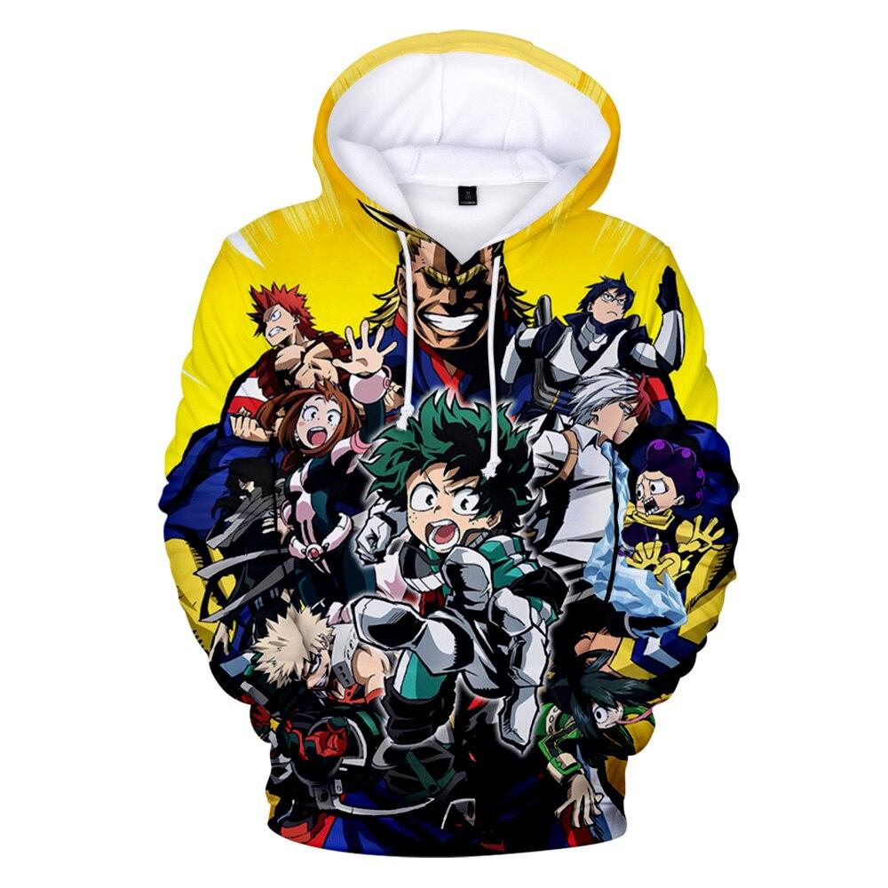 Мужские/женские толстовки с капюшоном Boku No/My Hero academic Midoriya Izuku Deku, индивидуальная мужская толстовка с капюшоном для мальчиков, мужская одежда