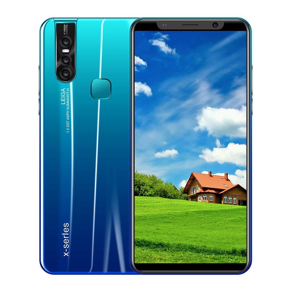 X27 PLUS 5.8 Inch Android Smartphone 512 + 4G Dual-Sim Smart Mobile Phone Face Unlocked Smartphone