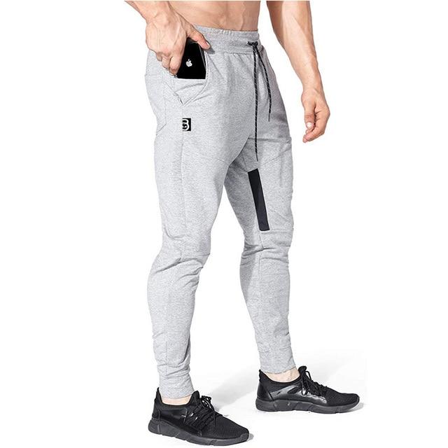 New Brand Jogging Pants Men Sport Sweatpants Running Pants Men Fitness Joggers Trackpants Slim Fit Pants Bodybuilding Trouser 2