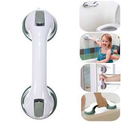 Portable Bathroom Strong Vacuum Suction Cup Handle Anti-slip Helping Grab Bar for elderly Safety Handrail Bath Shower Grab Bar