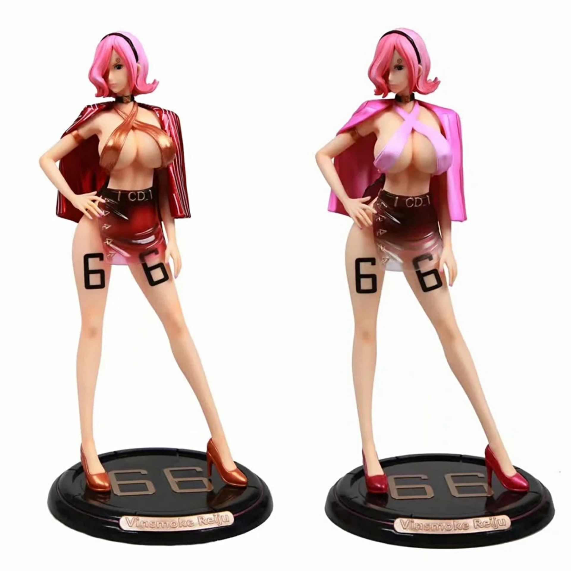 34cm une pièce Vinsmoke Reiju Figure d'anime fille Sexy Reiju PVC figurine jouets Collection modèle poupée cadeau