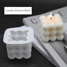 Candles Mould Soap Soy-Wax 3d Silicone Handmade DIY