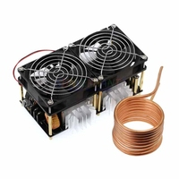A6 2000W ZVS Induction Heating Board induction heater Module Flyback Driver Heater Good Heat Dissipation 180*90*80mm + Coil