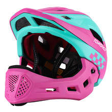 Bike Helmet Cascos Ciclismo Pro-Protection Children MTB LED Mountain-Road-Detachable