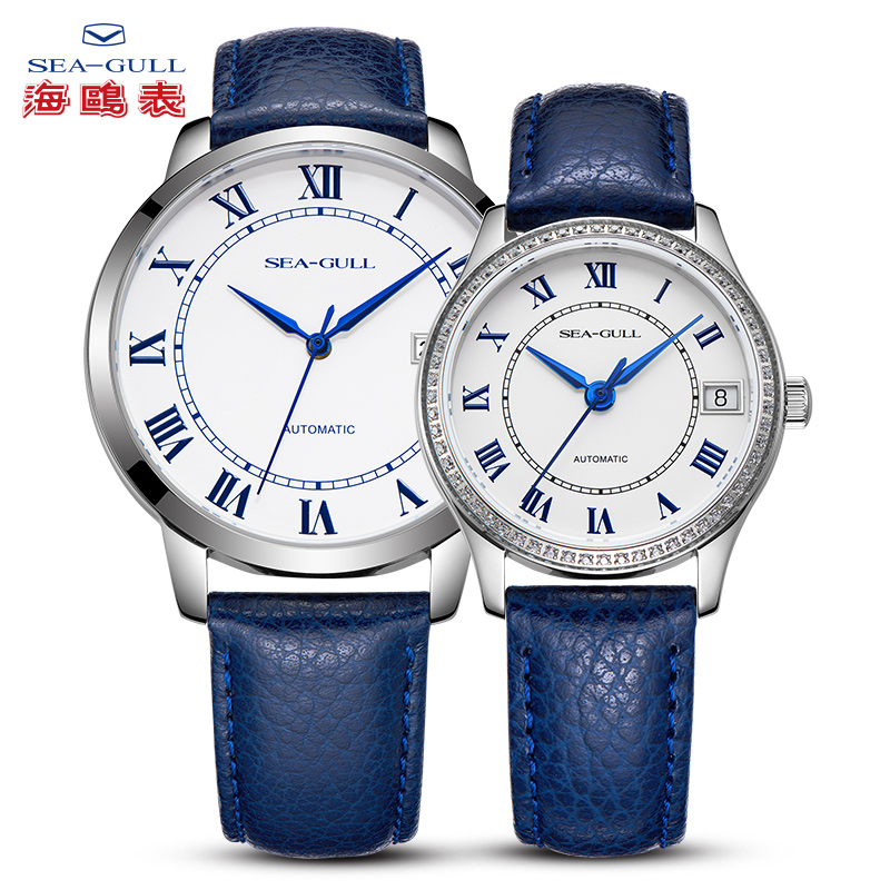 Seagull Couple Watch Mechanical Watch Automatic Watch Luxury Brand Seagull 42mm Fashion Simple Business Watch 819.11.6082