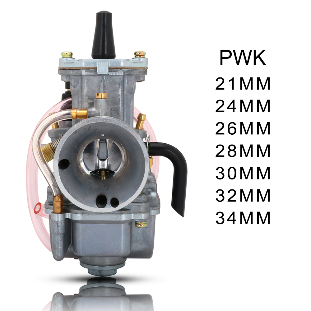 Motorcycle Scooter Carburetor Carb Engine For Keihin Honda Suzuki <font><b>PWK</b></font> 21 24 26 28 30 32 <font><b>34MM</b></font> With Power Jet ATV UTV Pit Bike image