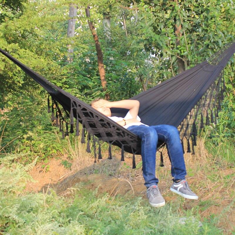 Hammock Swings Rural Hamock Indoor Swing Bed Tassel Hammock
