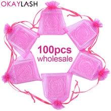 Okaylash конфетных цветов милый акриловый квадратный Прозрачный