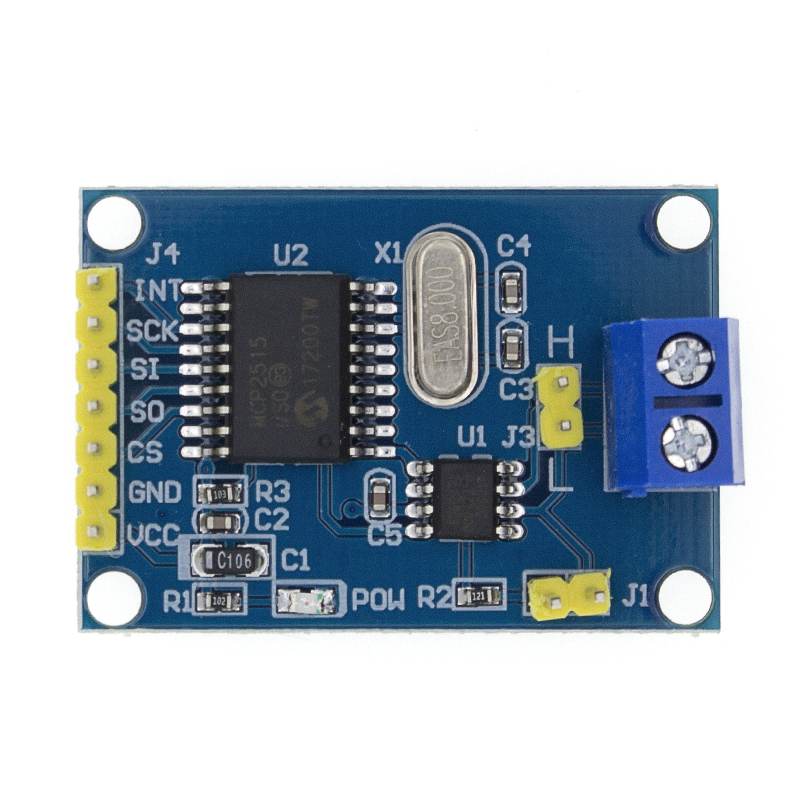 MCP2515 CAN Bus Module Board TJA1050 Receiver SPI For 51 MCU ARM Controller image