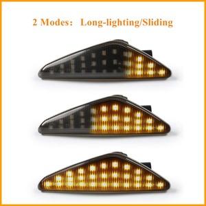 Image 5 - BeCar 2Pcs Dynamic Amber LED Side Marker Turn Signal Light For BMW E70 X5 E71 X6 F25 X3 Replace OEM Side Marker Light Waterproof