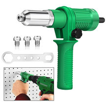 Pistolet à rivets électrique perceuse électrique adaptateur 2.4mm-4.8mm Rivet écrou pistolet tête de perceuse sans fil outil de rivetage écrou tirer Rivet outil