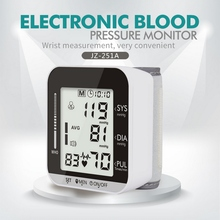 Portable Tonometer Blood Pressure Monitor Household Sphygmomanometer Arm Band Type Digital Electronic Mini Blood Pressure Meter tanie tanio MiLESEEY