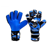 Футбольные вратарские перчатки латексные перчатки для защиты пальцев футбольные перчатки вратаря взрослые профессиональные дышащие прочные
