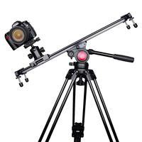Aluminum DSLR Camera Dolly Sliders 5D2/5D3 6/5000 Video Photography Vlog Camera Table macro Slider Damping Translation Rail 60CM