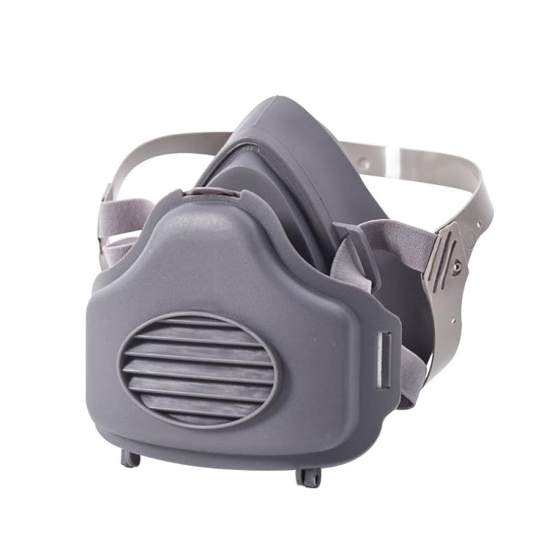 3700 Half Face Dust Gas Mask Respirator Paint Spraying Anti Dust Gas Mask Industrial Protective Safety Gas Mask