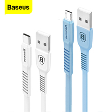 Baseus USB Cable For Samsung S20S10 Xiaom Fast Charging Charger USB-C Cord Micro