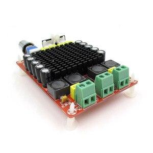 Image 3 - Плата цифрового усилителя UNISIAN TDA7498 Class D высокой мощности, 2,0 каналов, 2 аудиоусилителя 100 Вт с акриловым корпусом опционально