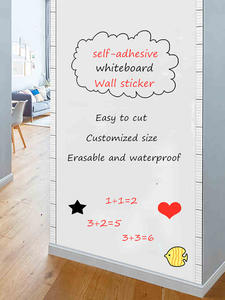 Whiteboard Removable Wall-Sticker Drawing Self-Adhesive Home-Decor Office Writing School