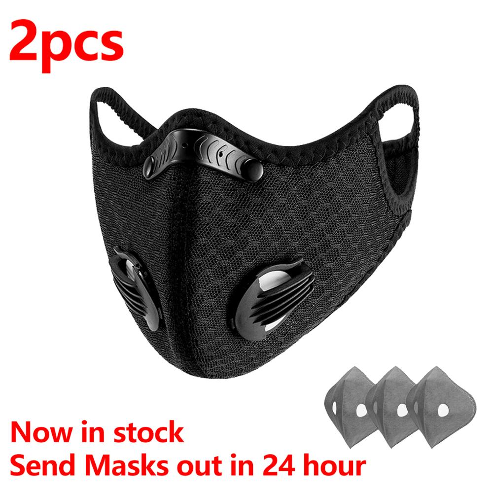2Pcs/lot KN95 Anti Virus COVID----19 Anti Infection Protect Mask 5 Layers Face Mask Respirator Mouth Mask Filter Dust