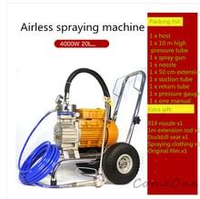 цена на 4000W High-pressure New Airless Spraying Machine Professional Airless Spray Gun High Quality Painting Machine Tool