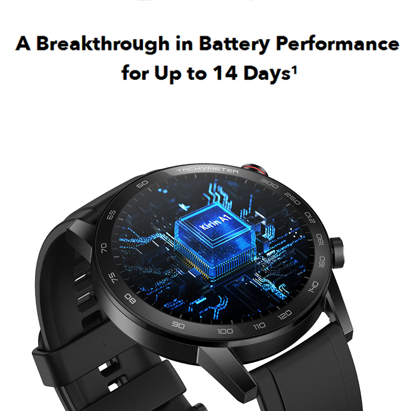 Global Version Honor Magic Watch 2 Smart Watch Bluetooth5.1 Smartwatch Blood Oxygen Waterproof 14 Days Heart Rat For Android iOS-2