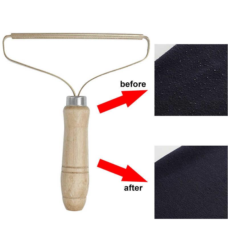 Mini przenośne usuwanie kłaków Fuzz golarka do tkanin na sweter wełniany płaszcz ubrania Fluff golarka do tkanin pędzel szczotka do sierści