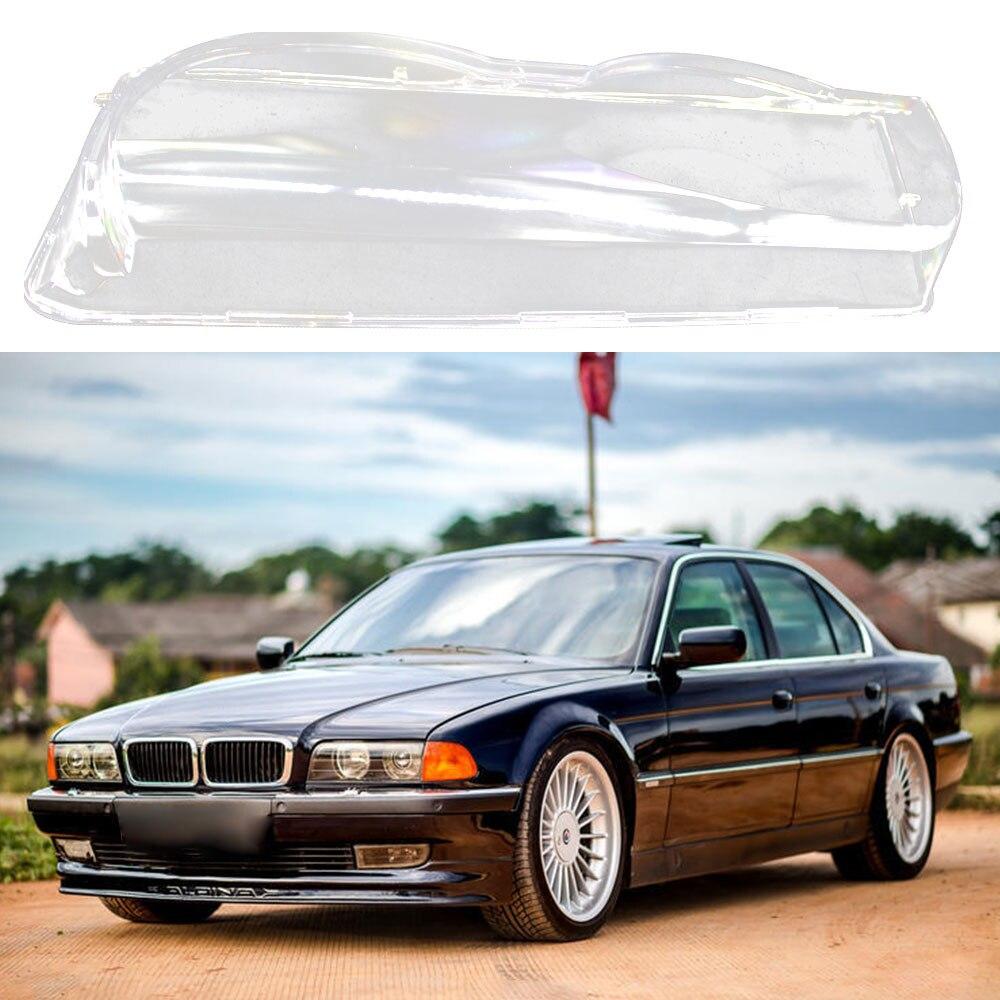 Для BMW 7-Series E38 Facelift 1999-2001 прозрачный правый левый автомобильный корпус фары прозрачная головная лампа крышка объектива