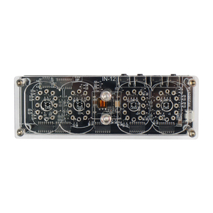 Image 5 - GHXAMP IN 12 Glow Tube 4 digit Clock Colorful LED Backlight DS3231 Nixie Clock IN 12B DC5V USB Electronic DIY