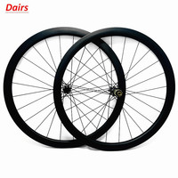 700c disc bike wheels 50x25mm clincher 1550g disc bicycle wheels D411SB D412SB 100x15 142x12mm road bike disc carbon wheelset