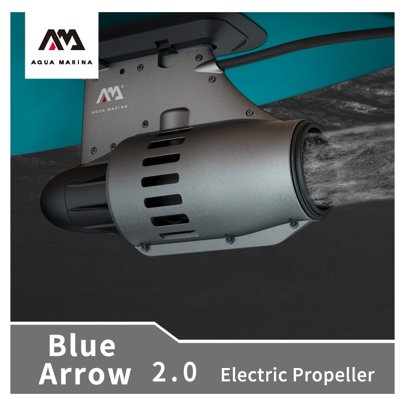 AQUA MARINA Rowing Boat Electric Propeller 4-6km/h Portable 12V DC Electric Motor Paddle Remote Control Board Paddle/Canoes