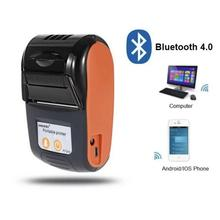 Thermal-Printer Phone-Pocket Ios Bluetooth Mini Android Wireless 58mm Ce No for Bill