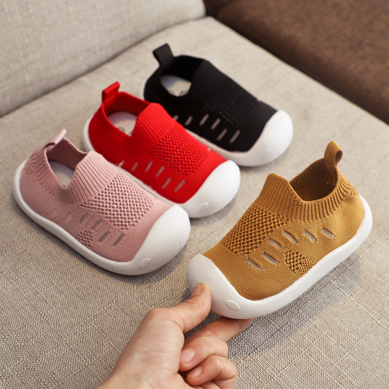 2019 Summer Infant Toddler Shoes Girls Boys Casual Mesh Shoes Soft Bottom Comfortable Non-slip Kid Baby First Walkers Shoes