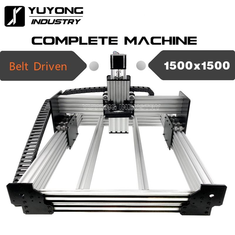 1500x1500mm entraînement par courroie WorkBee CNC kit complet WorkBee CNC Machine bois métal graveur fraiseuse