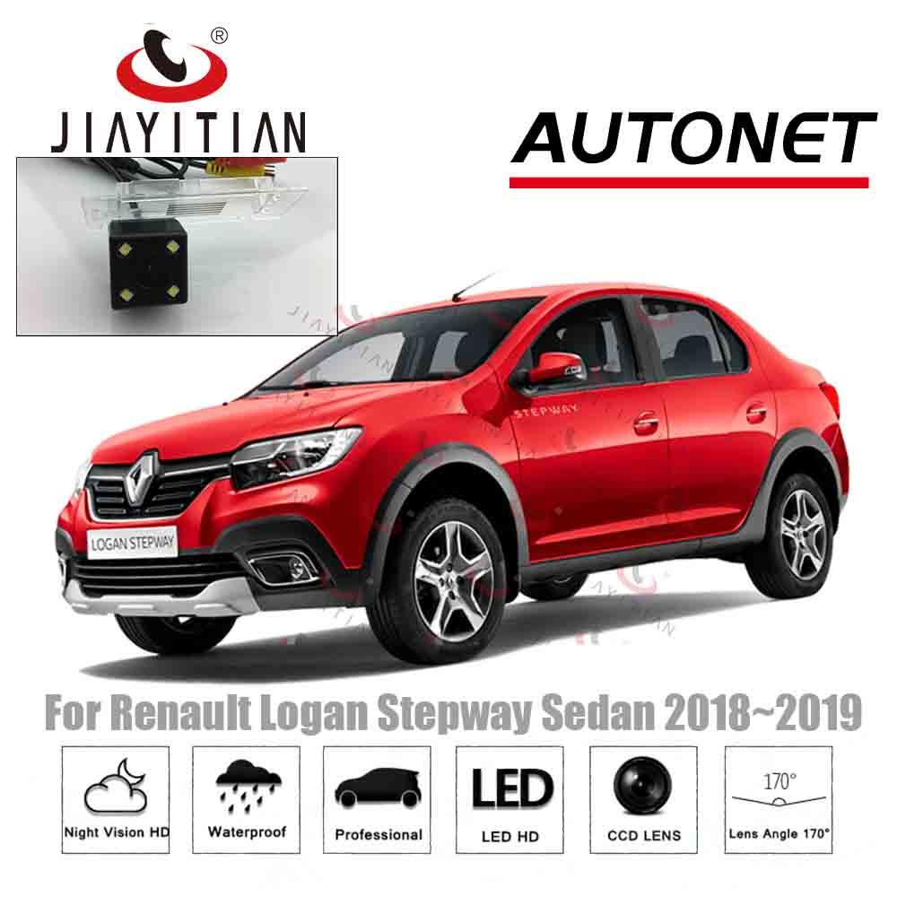 JiaYiTian Car Rear View Camera For Renault Logan Stepway Sedan 2018 2019 2020 CCD Backup Camera Reverse Camera Parking Camera