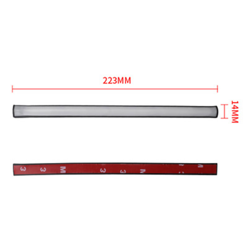 220mm Motorcycle Sequential Running Brake Tail Light Turn Signal Integrated LED Stop Light Strip