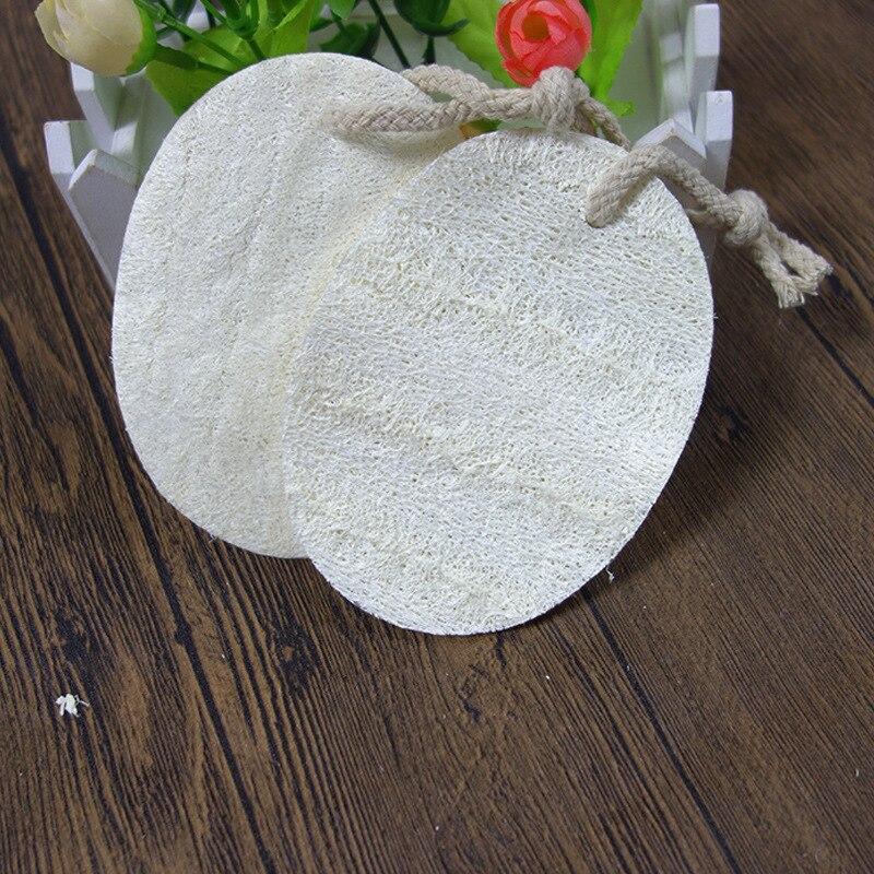 Exfoliating Loofah Sponge Pads Large 100% Natural Luffa  Eco pot brush Clean Scrubber Kitchen Brushes