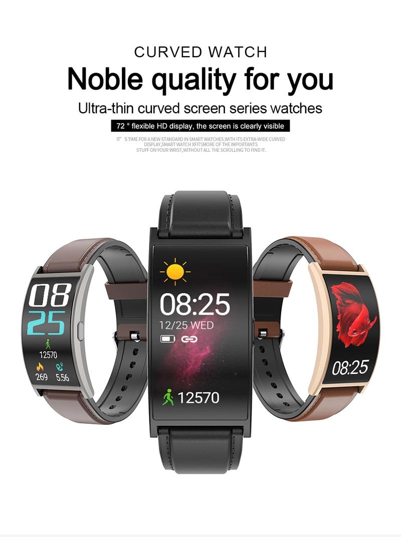 Smartwatch Curve Screen Wristband-aolanscctv