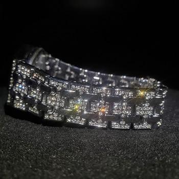 MISSFOX Silver Women's Watch Casual Dress Ladies Watch Fashion Waterproof Steel Quartz Wrist Watches For Women Valentines Gift 3