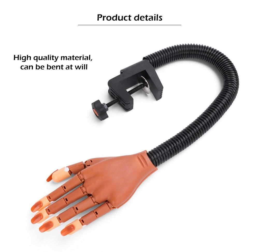 dicas de unhas manicure ajustável treinamento mão