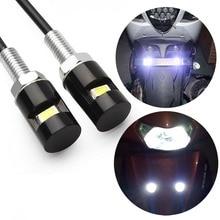 Maluokasa 2x Мотоцикл LED Номерной знак Легкий Стайлинг болт smd свет автомобиль фантастический лампа 12 В спереди задний фонарь