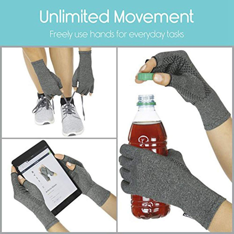 Компрессионные перчатки для ревматоида, остеоартрита-теплые перчатки для компьютерной печати, артритные боли в суставах, карпальный Тун