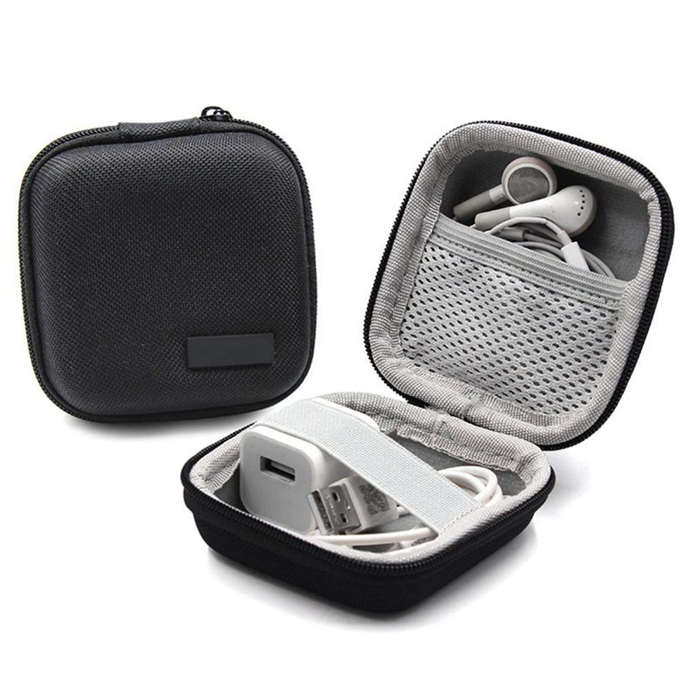 Bag Earbuds-Box-Storage Charger-Organizer Headset Earphone Portable For Memory-Card Usb-Cable