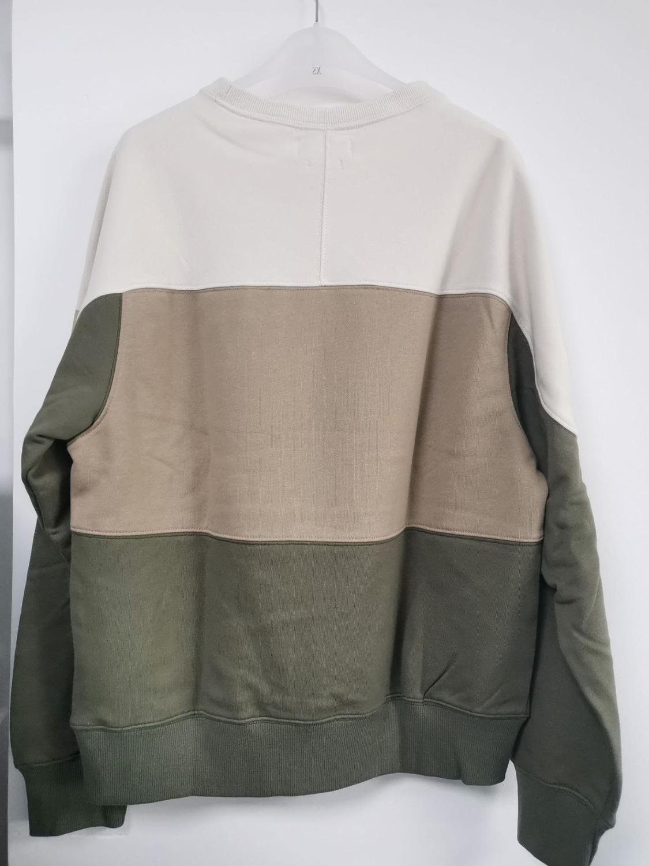 New Women Cotton Letter Sweatshirt Autumn Winter Long Sleeve O Neck Patchwork Femme Loose Pull Top