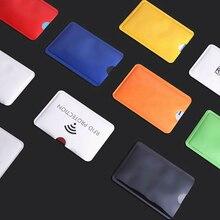 Wallet Reader-Lock Card-Holder Case-Protection Metal Blocking Anti-Rfid Aluminium Credit