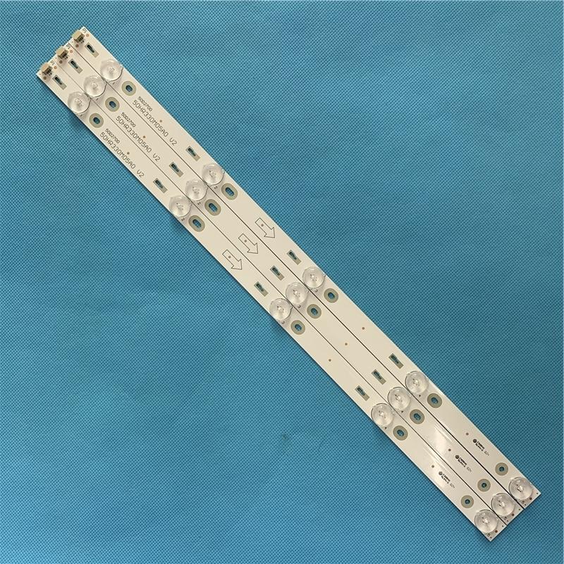 LED Backlight Strip 5 Lamp For TCL D50A710 B50A638 C-LB5005-HR1 50HR330M05A0 50D2700 4C-LB5005-HR1 LED50D2720 50FS3800 D50A710