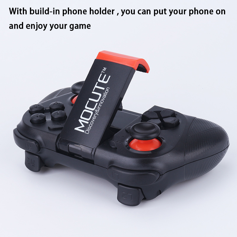 MOCUTE 050 VR Game Pad Android Joystick <font><b>Bluetooth</b></font> Controller Selfie <font><b>Remote</b></font> <font><b>Control</b></font> <font><b>Shutter</b></font> Gamepad For PC Smartphone image