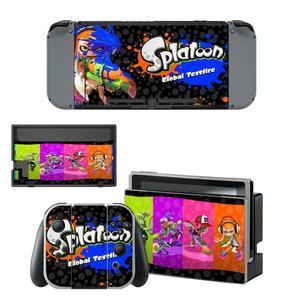 Image 2 - Game Splatoon 2 Nintendoswitch Huid Nintend Schakelaar Stickers Voor Nintendo Switch Console Vreugde Con Controller Dock Skins Stickers